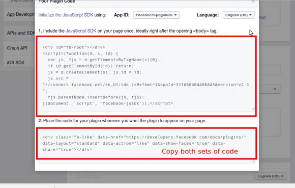 Copy FB Code